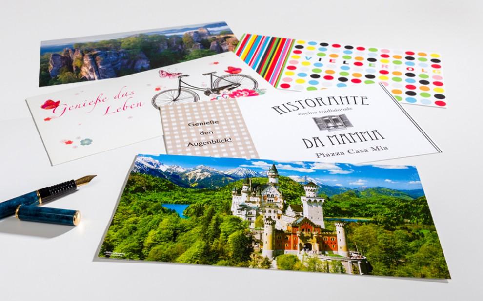 Druckerei Münch: XXL-Karten