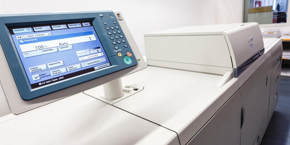 Druckerei Münch - Digital Druck Technik