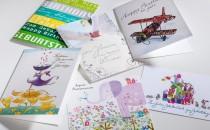 Ein Produkt in vielen Variationen: Glückwunschkarten zu jedem Anlass