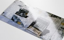 XXL-Karte veredelt mit UV-Lack