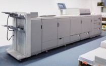 Bei der Druckerei Münch im Einsatz: Digitaldrucktechnik aus dem Hause Canon